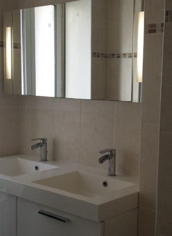Carrelage de salle de bain à Fleury les Aubrais